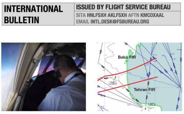 Monday Briefing: North Atlantic Changes, Caspian Sea Missiles