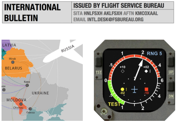Monday Briefing: Russian overflights of Ukraine now prohibited, EUR: TCAS 7.1 Compulsary