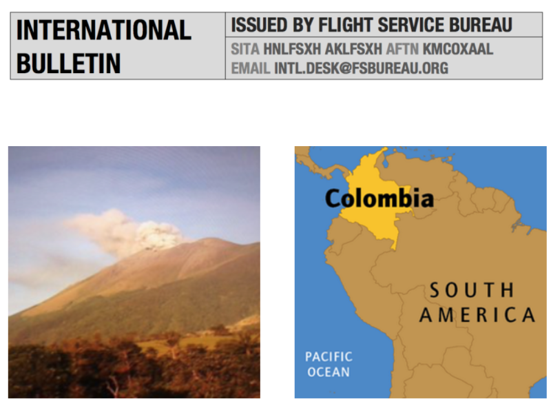 Monday Briefing: Kanlaon Volcano Eruption, Colombia Permit requirements