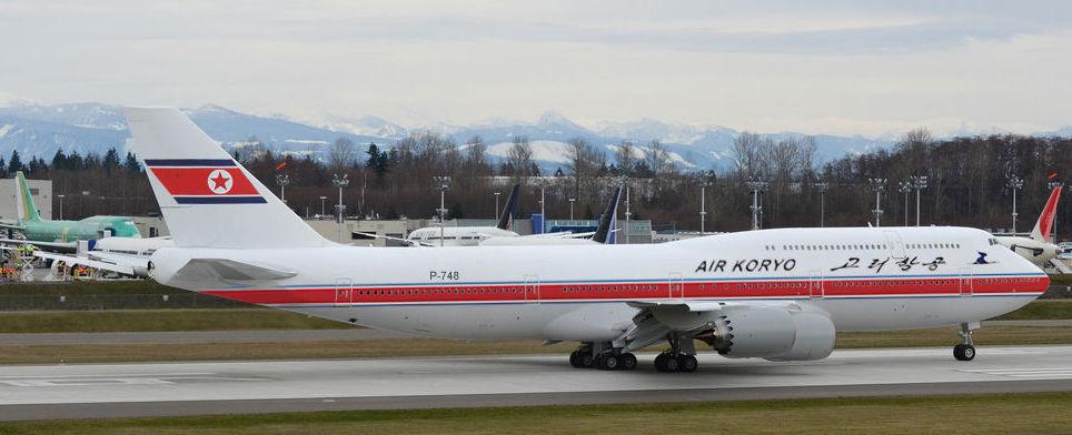 Air Koryo B747-8