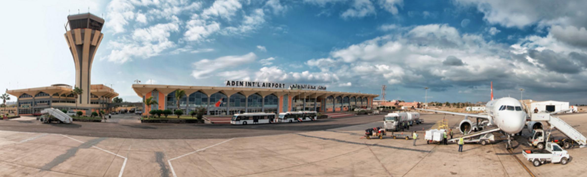 Aden Airport reopens