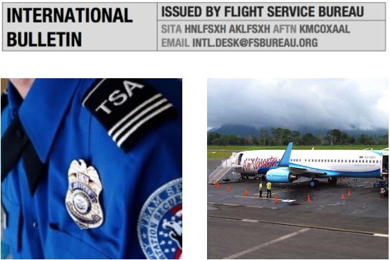 Midweek Briefing 03AUG: TSA/eAPIS increase in US fines, Vanuatu Runway concerns