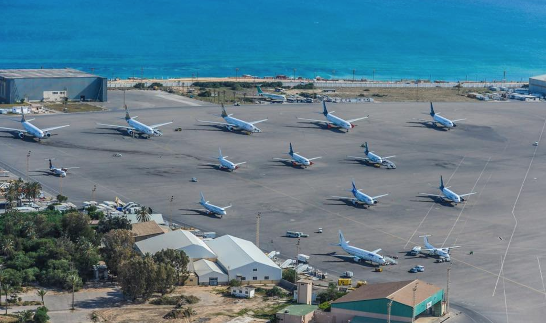 Fighting at Tripoli Airport, 5 killed
