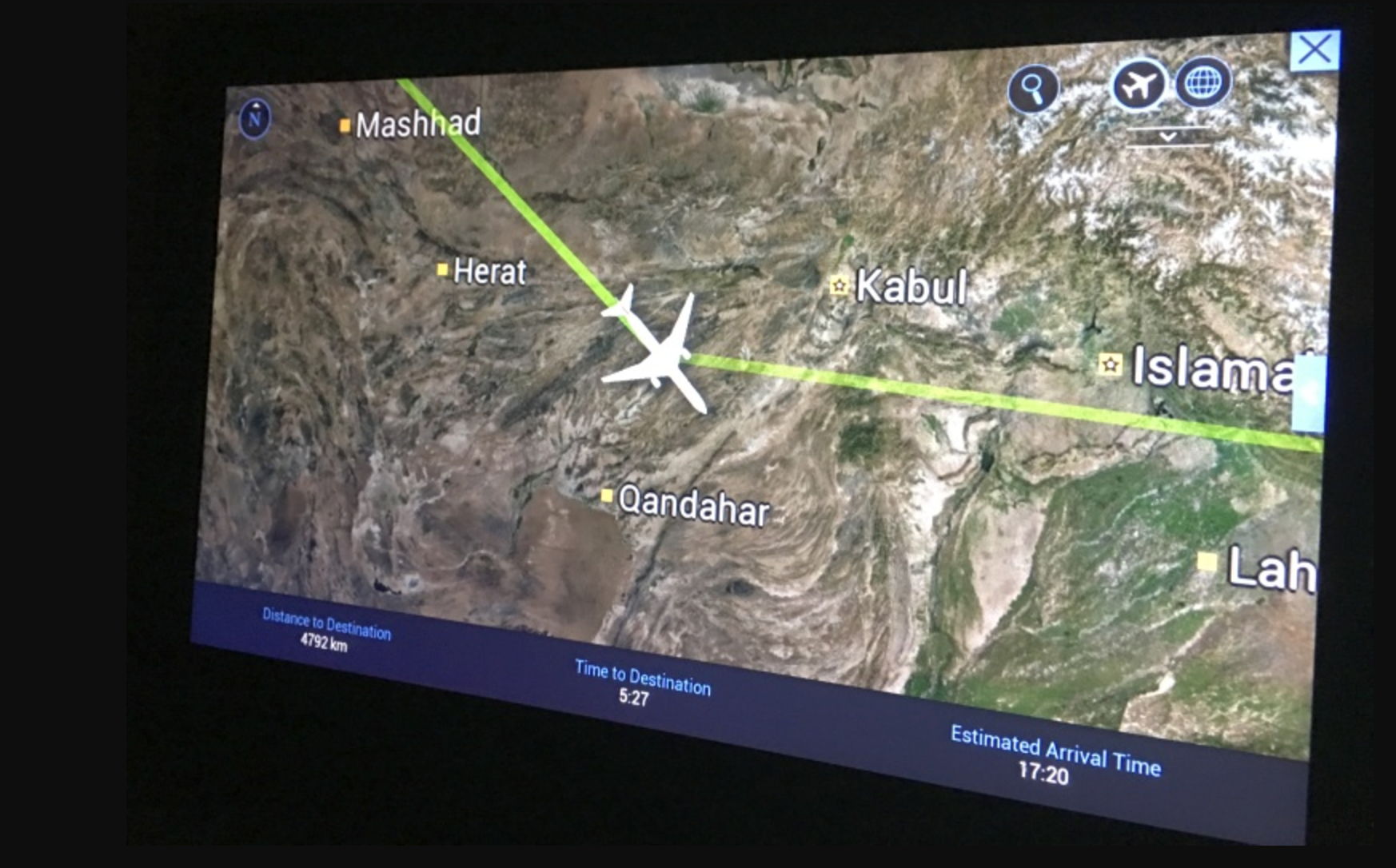 New overflight charges for Kabul FIR