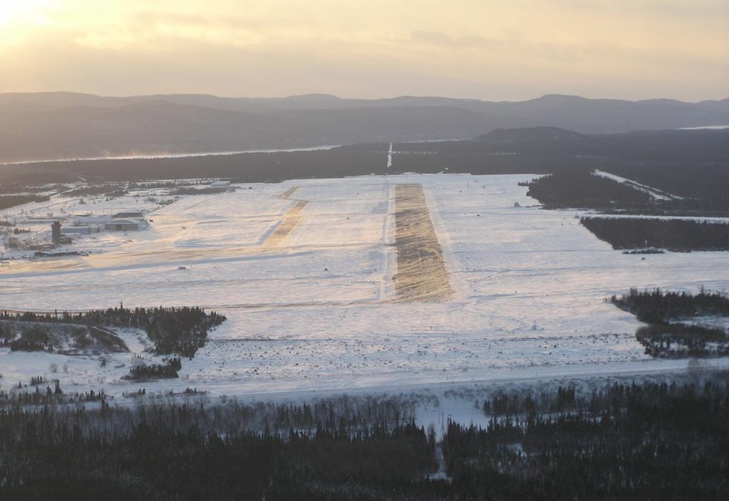 CYYR/Goose Bay closed – sticky runways