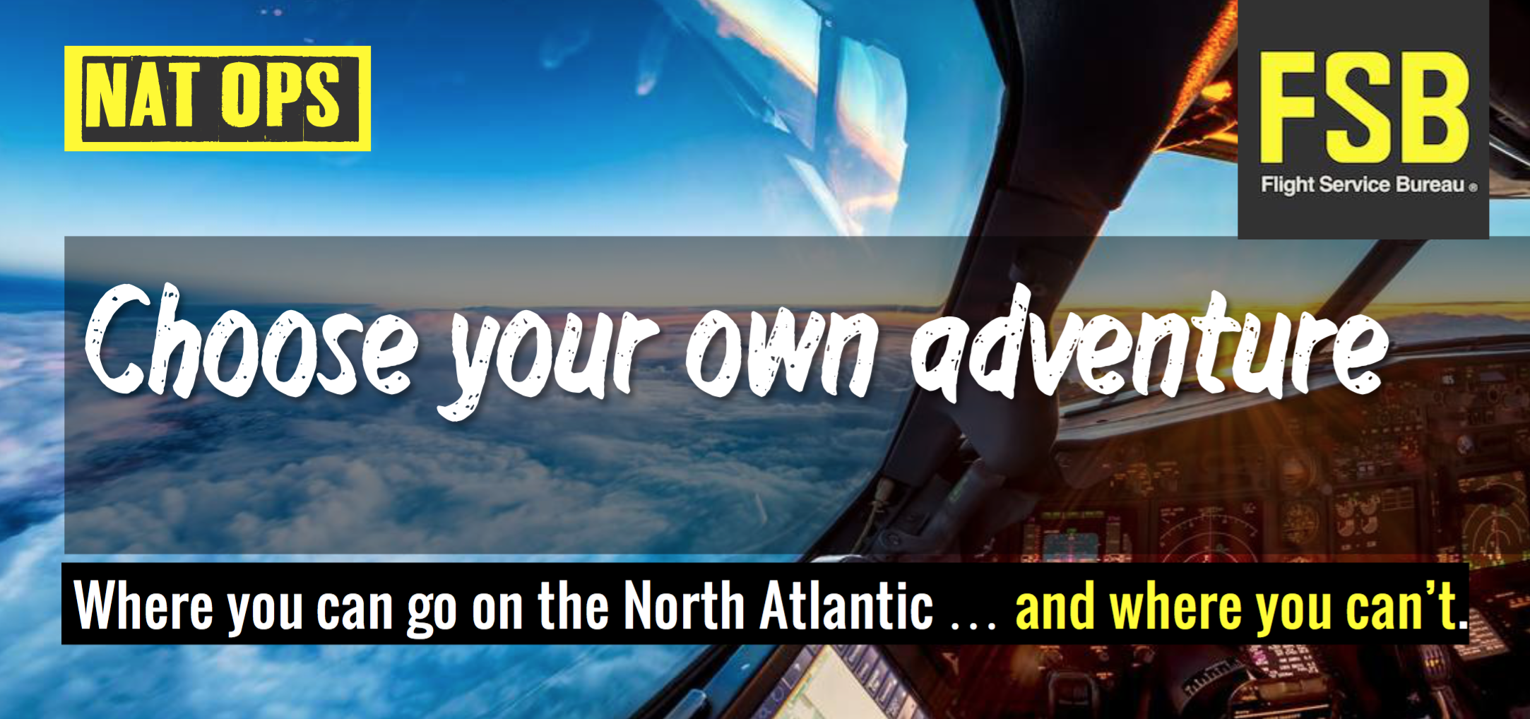 NAT – Choose your own Adventure