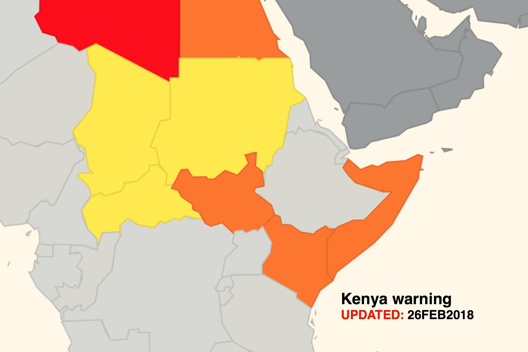 Kenya airspace threat downgraded