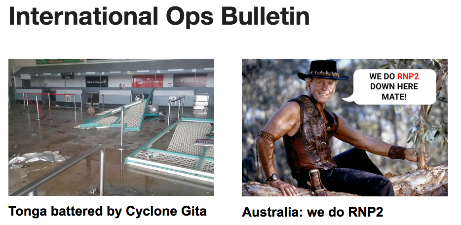 16FEB: Tonga Cyclone, Australia does RNP2, NAT PBCS change, are you an ATCO?