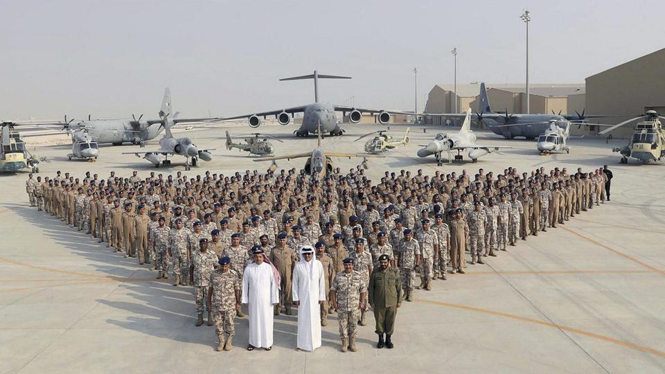 Qatar airspace update – military jets intercepting civil flights