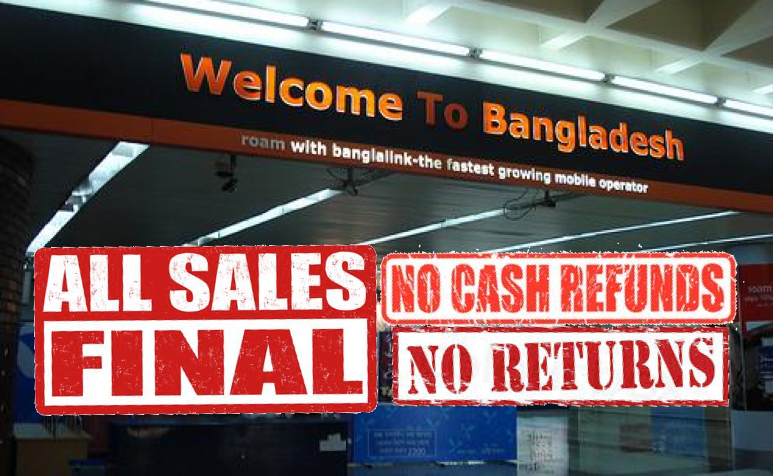 Non-refundable Bangladesh permits