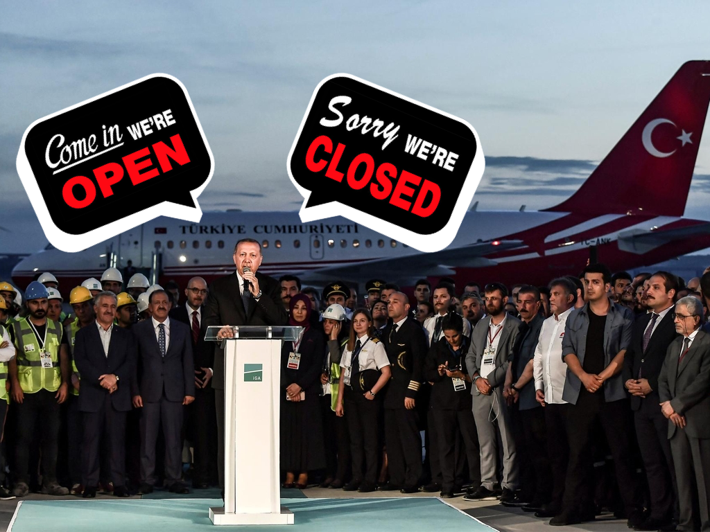Istanbul Mega-Airport opening soon – but not for everyone