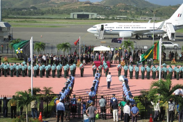 AYPY/Port Moresby restrictions during APEC 2018