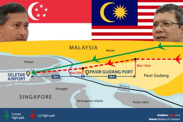 Malaysia and Singapore agree truce over Seletar airspace closure