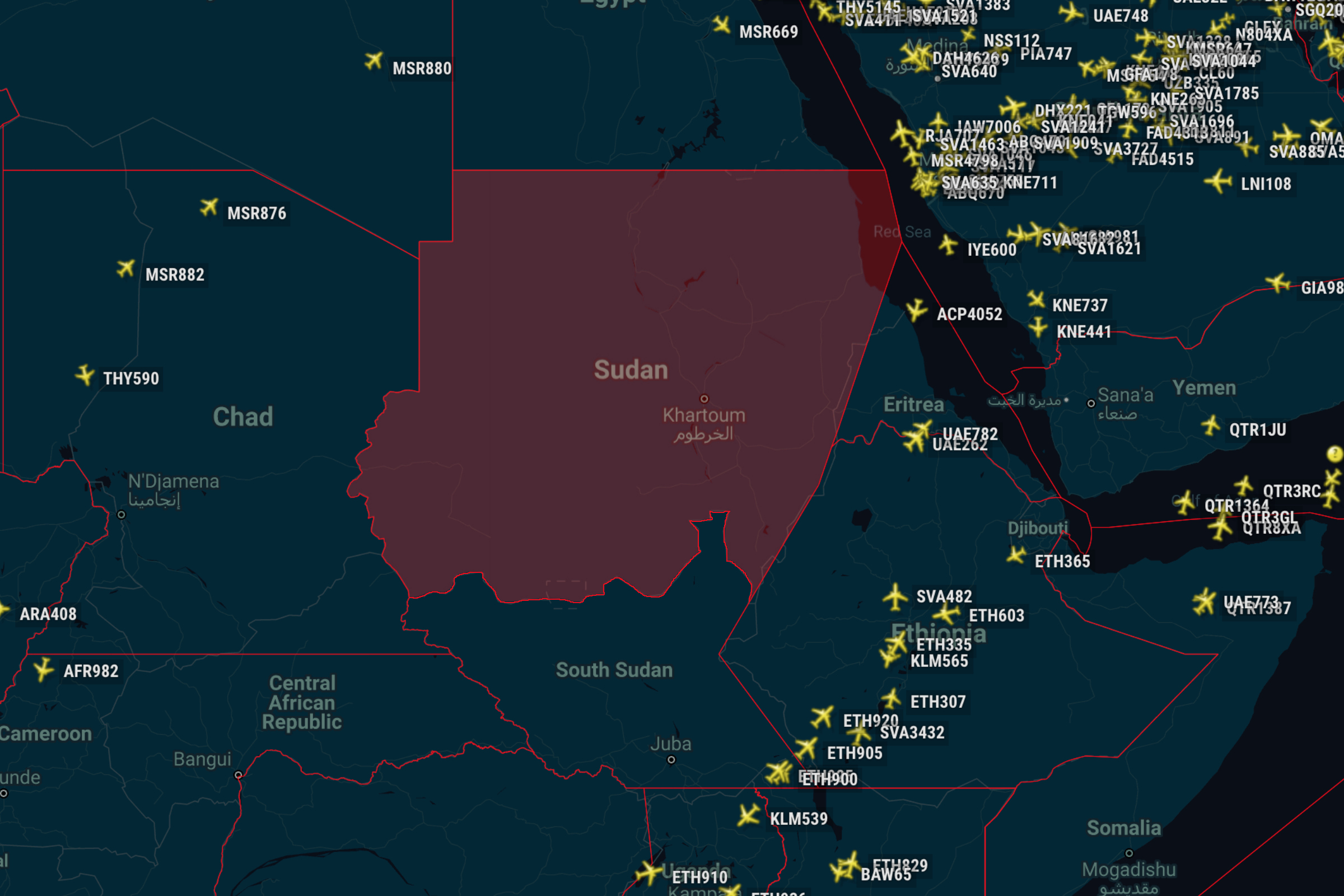 Sudan Airspace Update: A New Risk