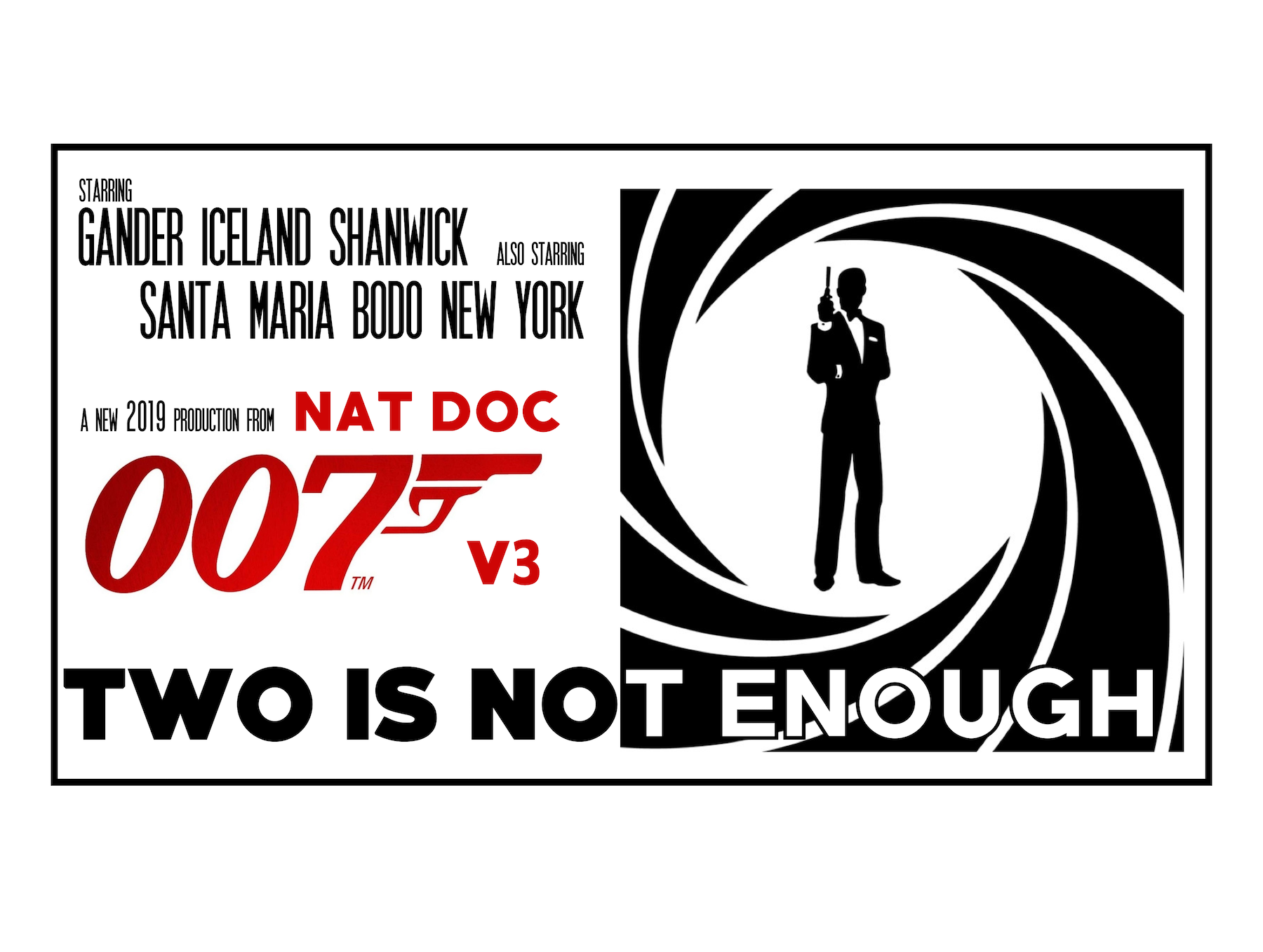 Two is Not Enough: New NAT Doc 007 (Version 3) – August 2019