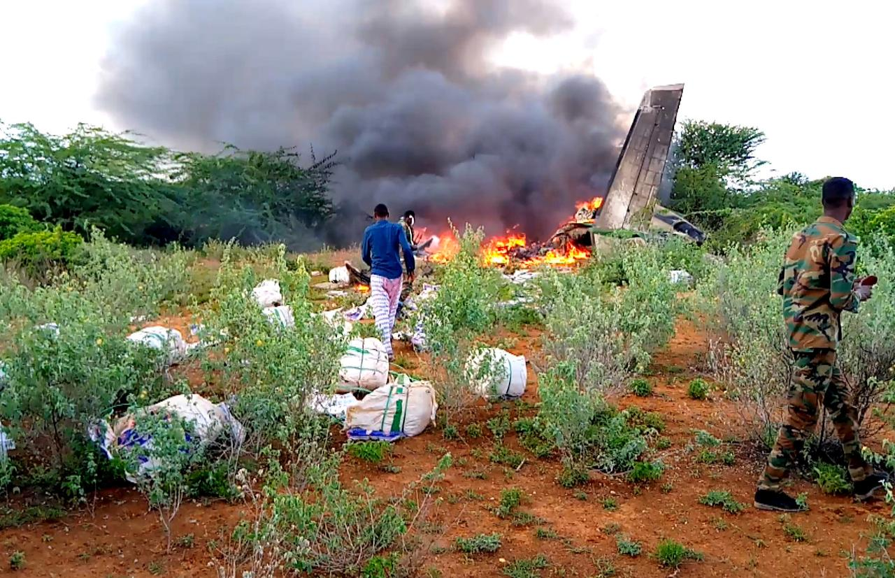 Cargo plane in Somalia was shot down