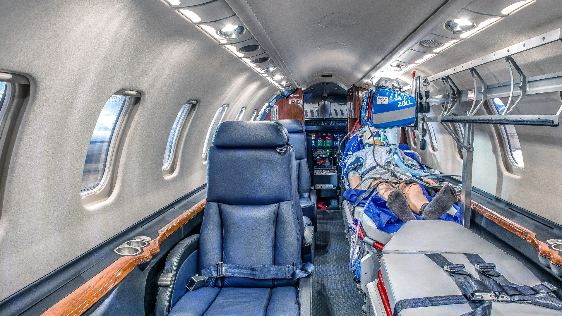 The impact of Covid restrictions on Medevac ops
