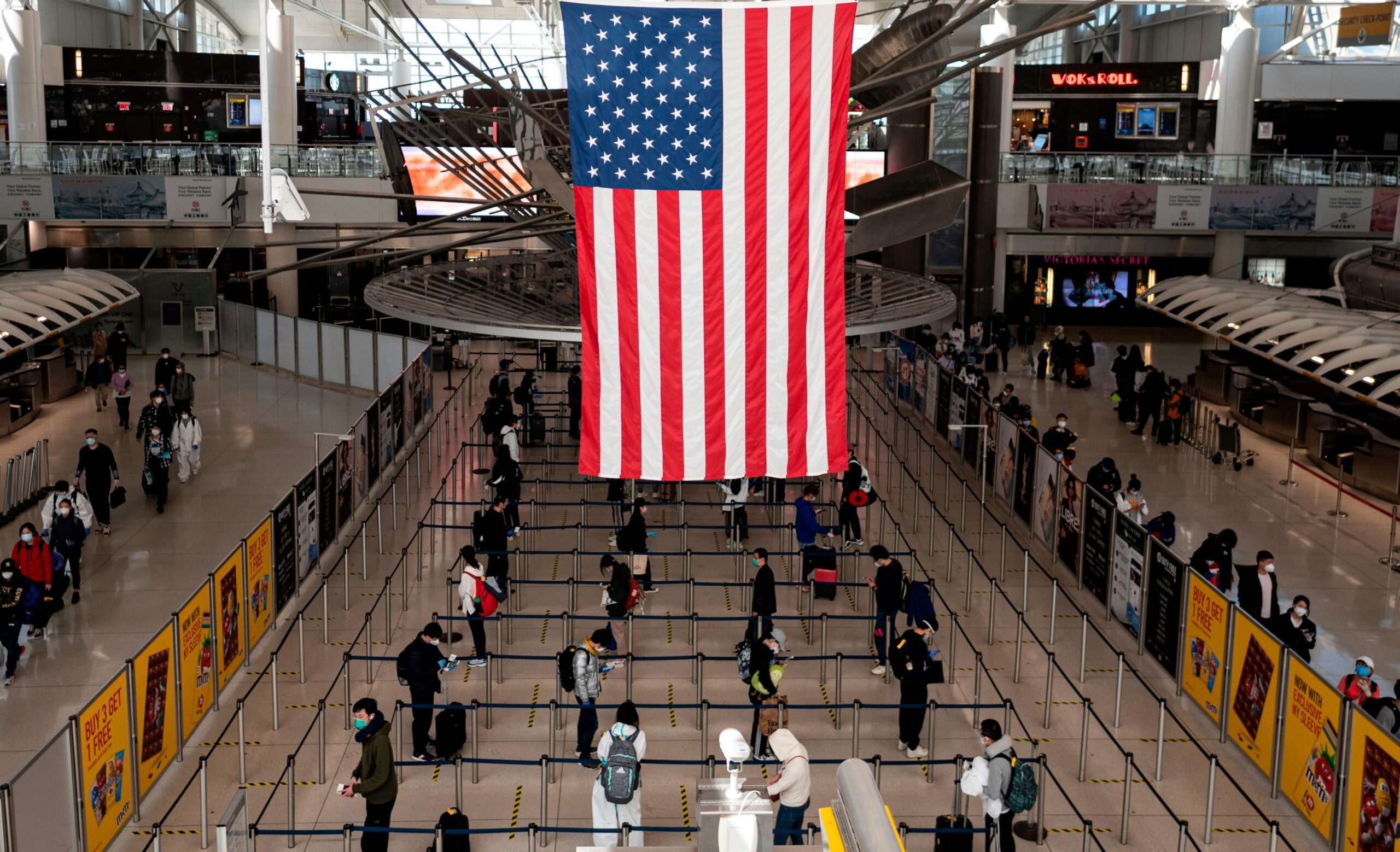US no longer limiting international arrivals to 15 airports