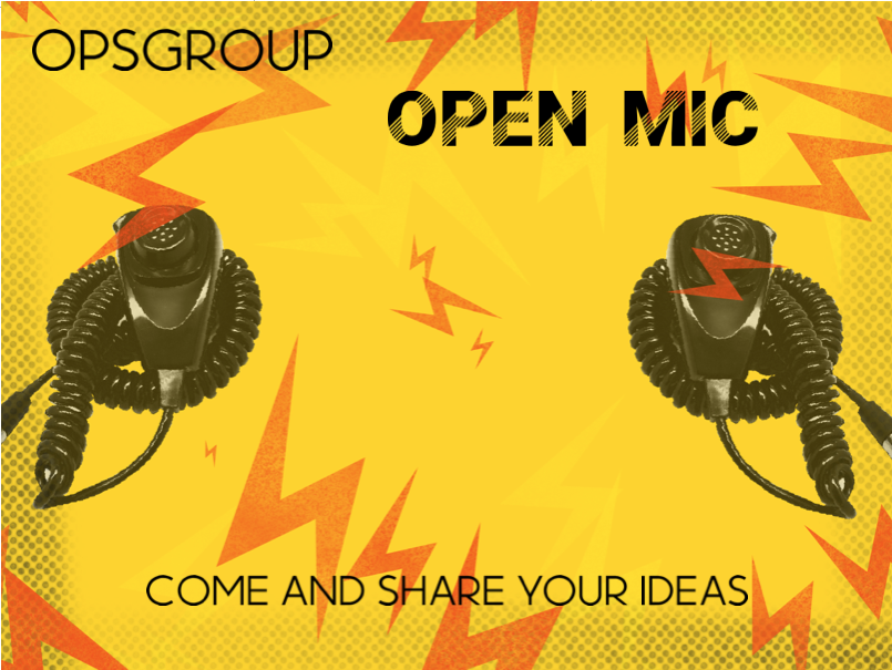 The June OPSGROUP Open Mic