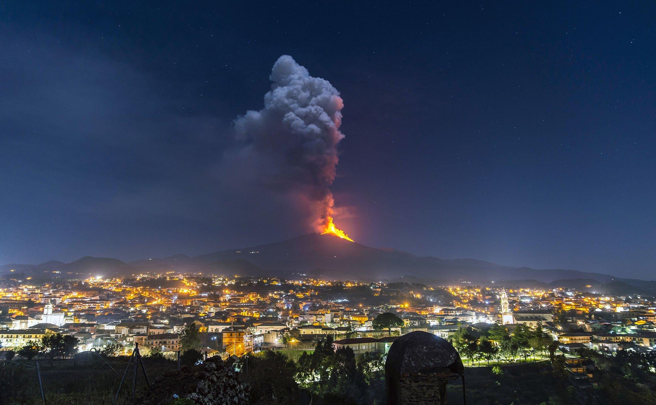 Mount Etna Operational Impact