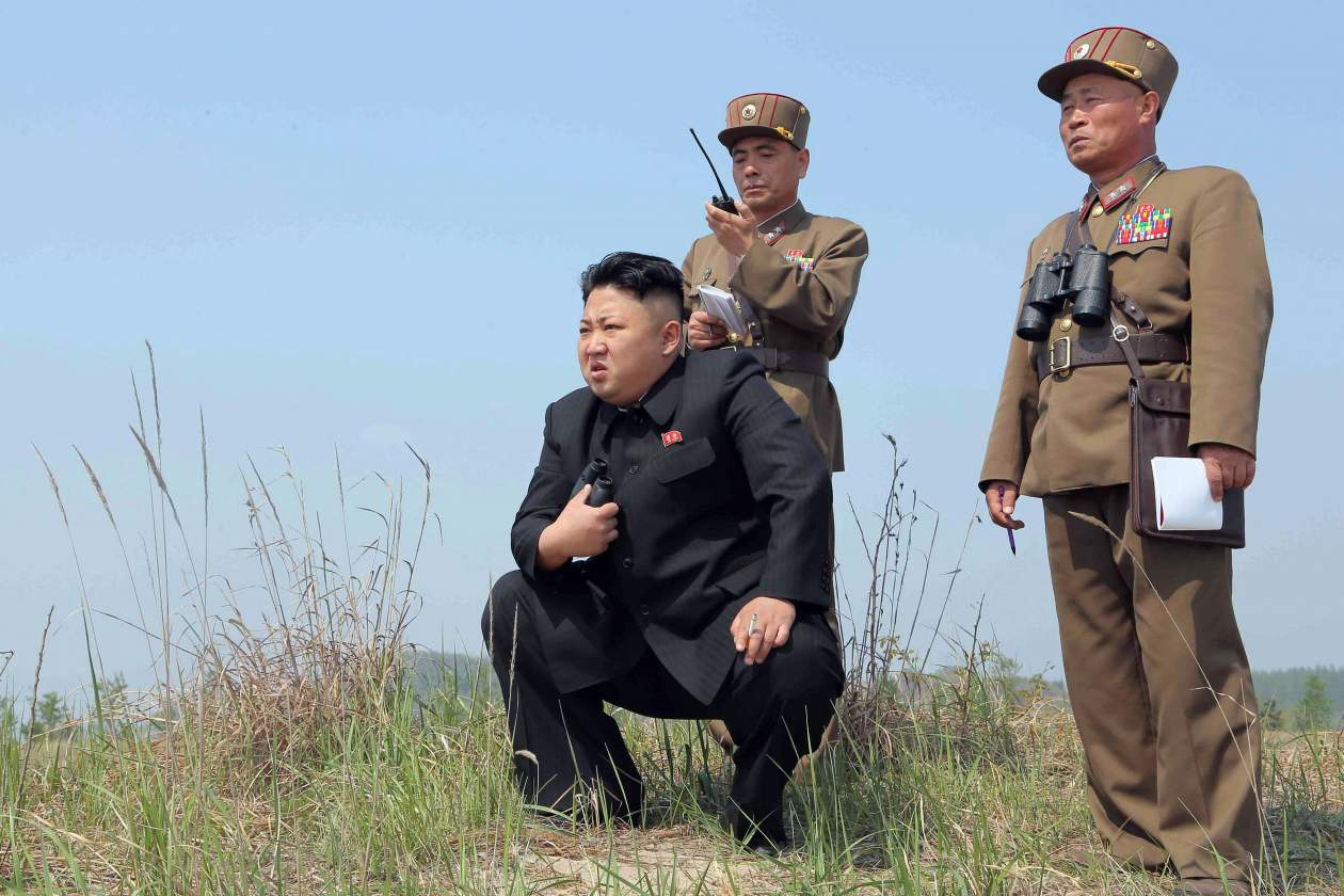 North Korea missile risk in the Sea of Japan